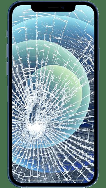 Cracked iphone screen repair in Dunmow, Essex
